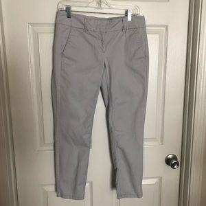 Loft straight leg Gray pants